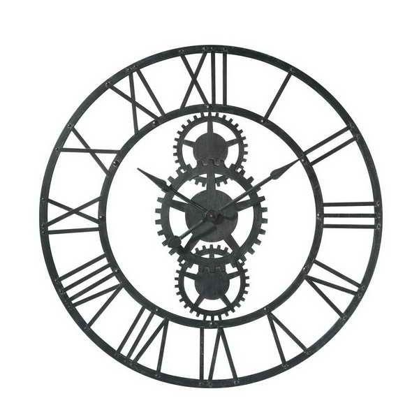 horloge originale pour cuisine acc meubles industriels pinterest horloge metal horloge. Black Bedroom Furniture Sets. Home Design Ideas