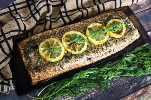 Photo of Cedar Plank Salmon