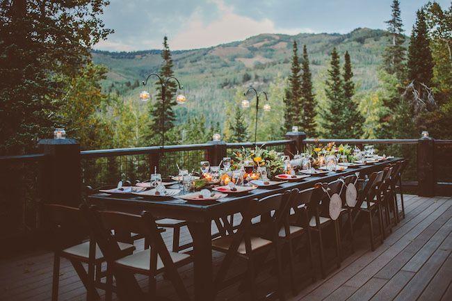 Intimate Utah Mountain Wedding: Ashton + Jordan | Wedding ...