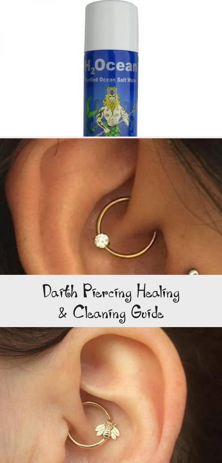 Daith piercing healing cleaning guide in 2020 daith
