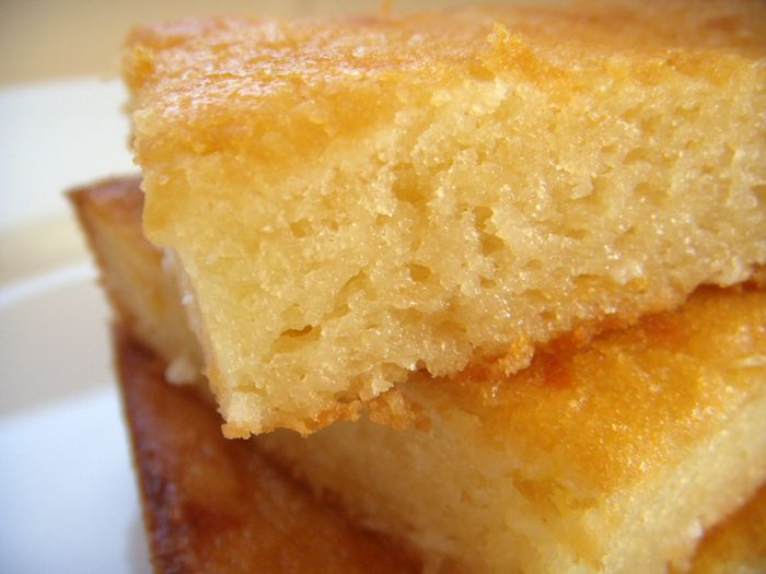 Bibingka -- an insanely moist rice-coconut-cheese cake ...