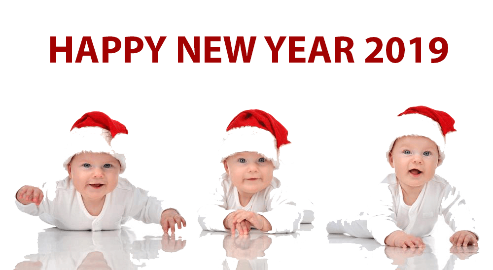 happy new year 2019 beautiful baby images hd