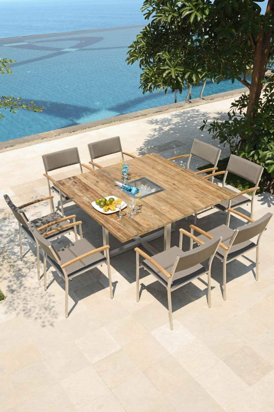 Die Esstischgruppe Für Die Terrasse Ermöglicht Es Ihnen In Ihrer