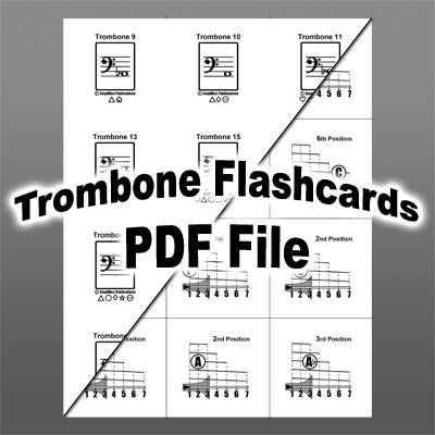Humorous Trombone Position Chart Learn To Play Present Gift Sheet Music Trombone Chart Instruction Books, Cds & Video