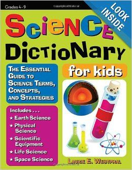 scientific terms definition