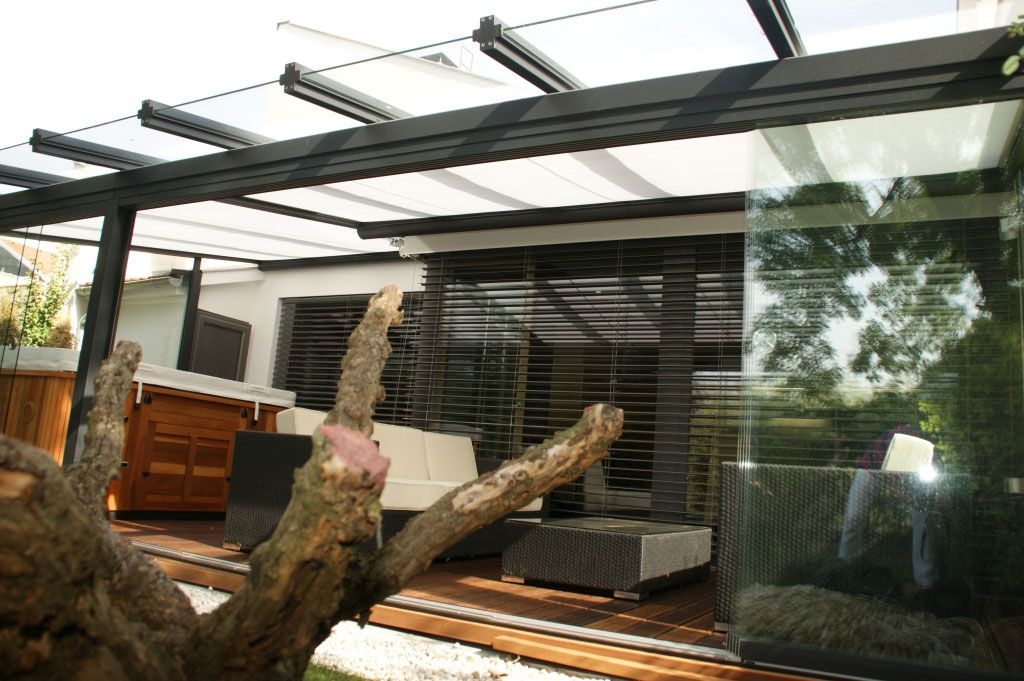 g nstiges terrassendach terrassen berdachung terrassen berdachung glas alu ideen pl ne. Black Bedroom Furniture Sets. Home Design Ideas