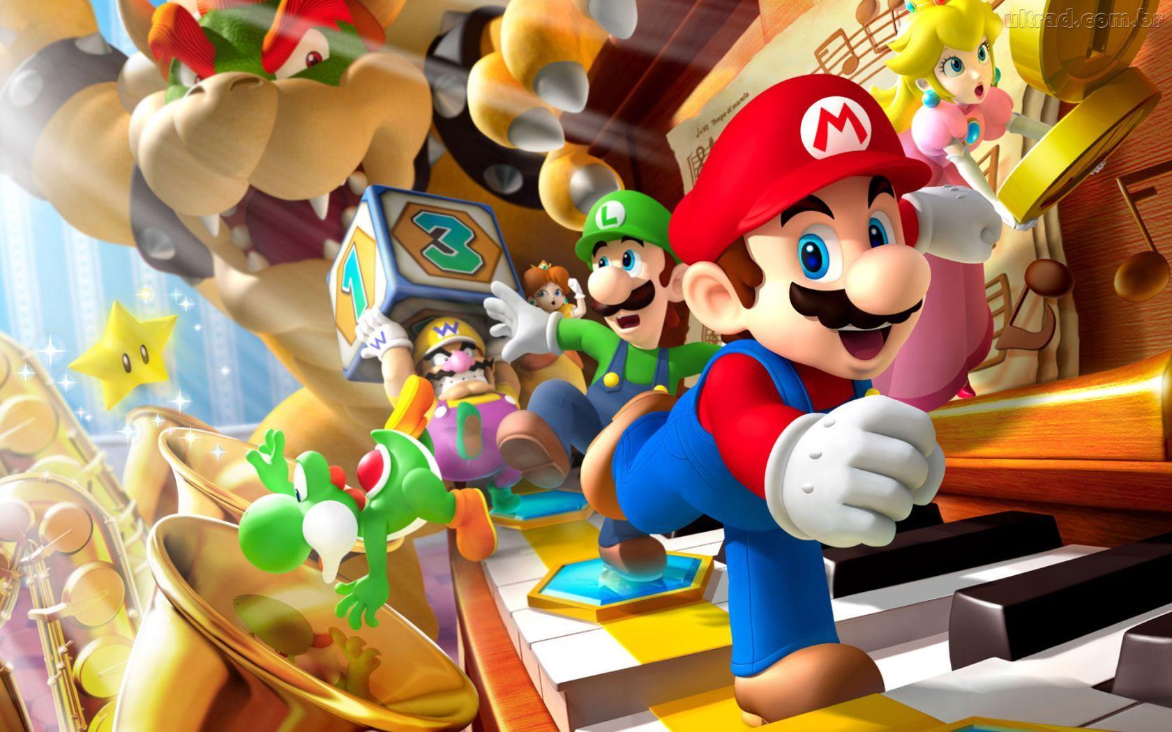 Pin De Felipe Tim Beta Em Mario World Mario Party Jogo Do Mario Super Mario Bros