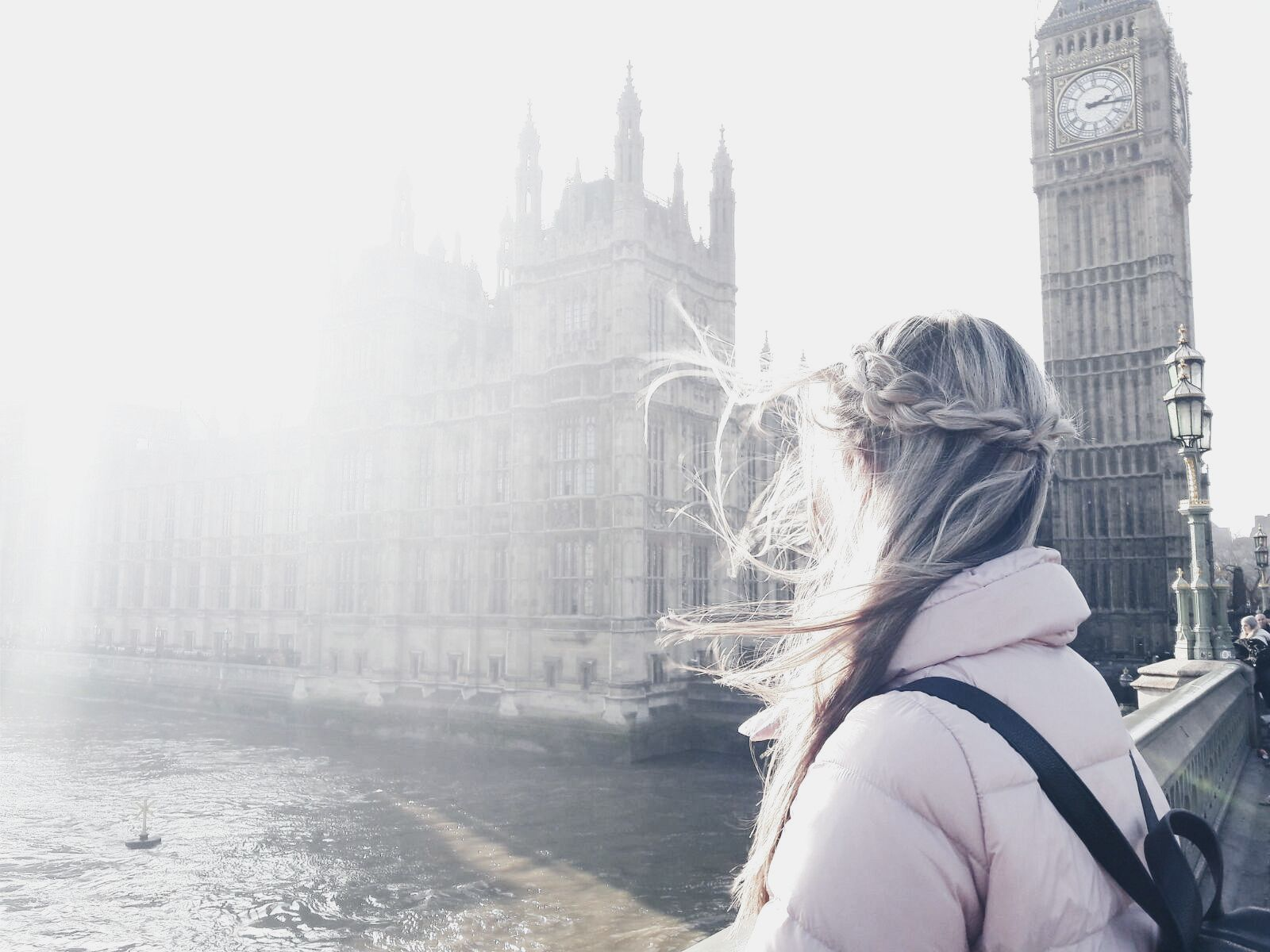 Travel braided hairstyle IG: kristynan #travel #london #travelhairstyle #braid #easyhairstyle