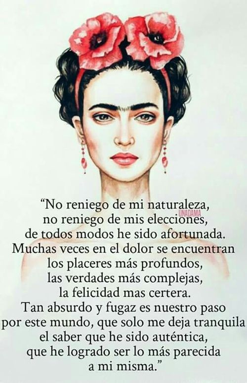 Imagen De Frida Kahlo Letras And Palabras Frases Words Quotes