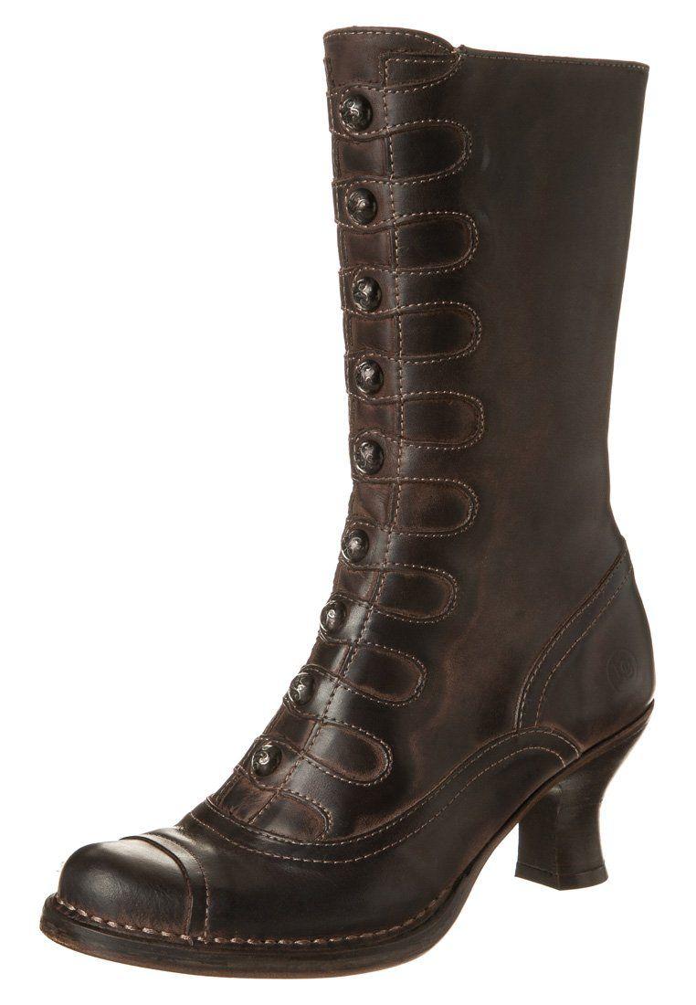 Schuhtempel24 Damen Schuhe Overknee Stiefel Stiefeletten Boots Stiletto Cut Outed Look cm High Heels Schwarz aRqmRMdDq