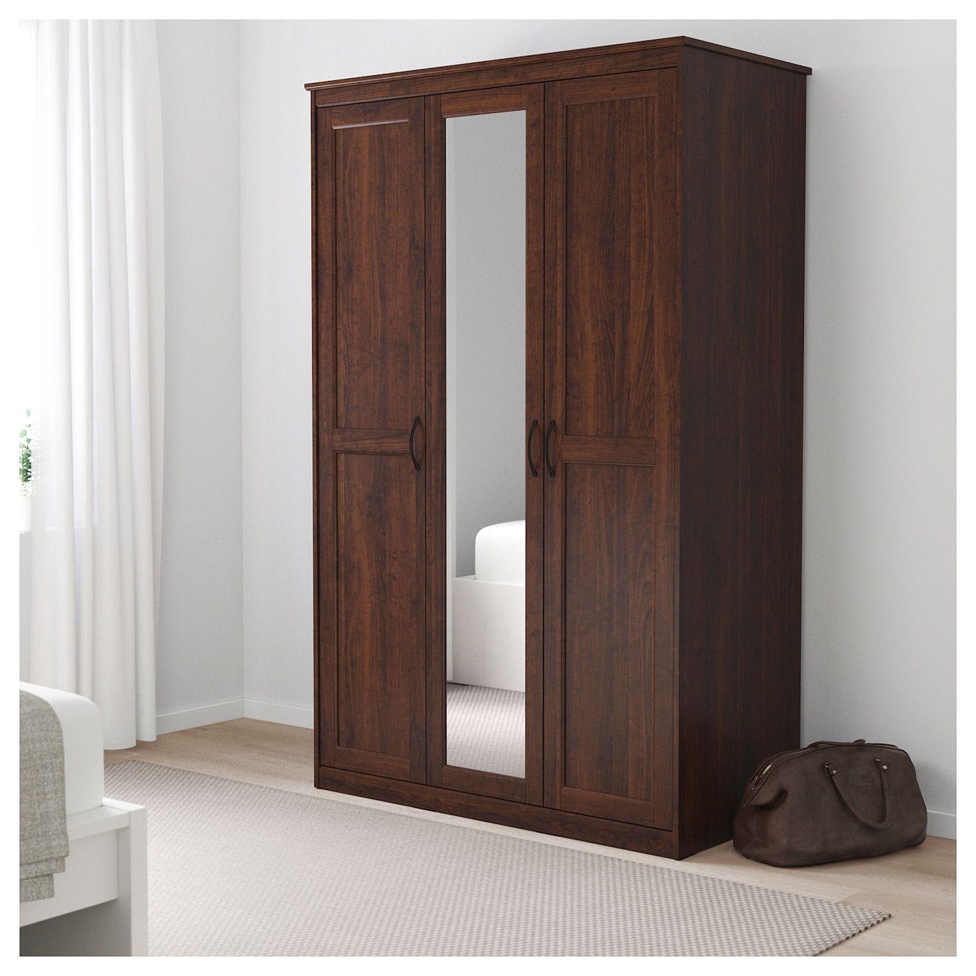 Songesand Wardrobe Brown 120x60x191 Cm Ikea Wardrobe Ikea