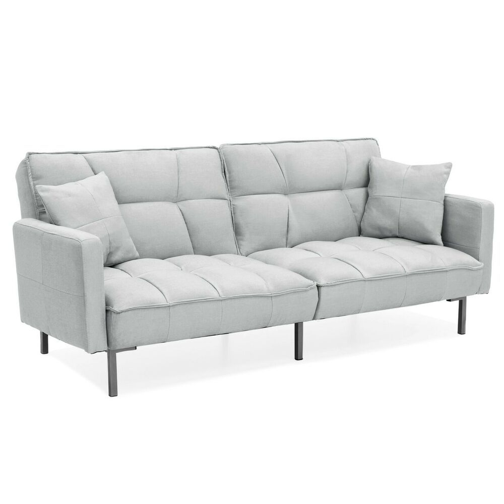 Futon Sofa Bed Fold Down Sleeper Convertible Couch Split