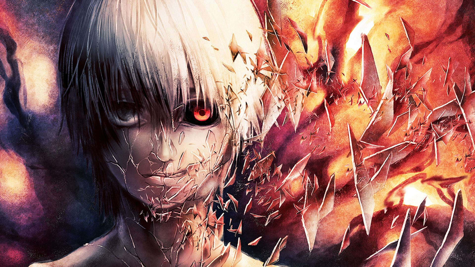hd wallpaper and background photos of broken kaneki for fans of tokyo ghoul images