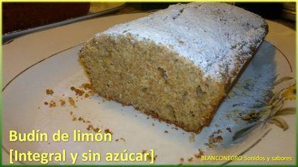 Budín de limón [Integral y sin azúcar] - Taringa!