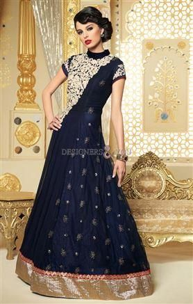 c91fd826c ... Style   SemiStitched Party Wear Anarkali Suit Default Size   X.   Newanarkali design asmetric cut latest  designersuits by famous designers  ...