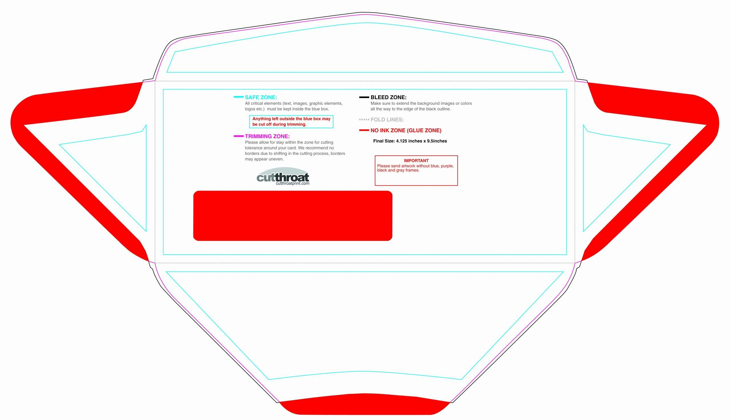 10 Window Envelope Template from i.pinimg.com