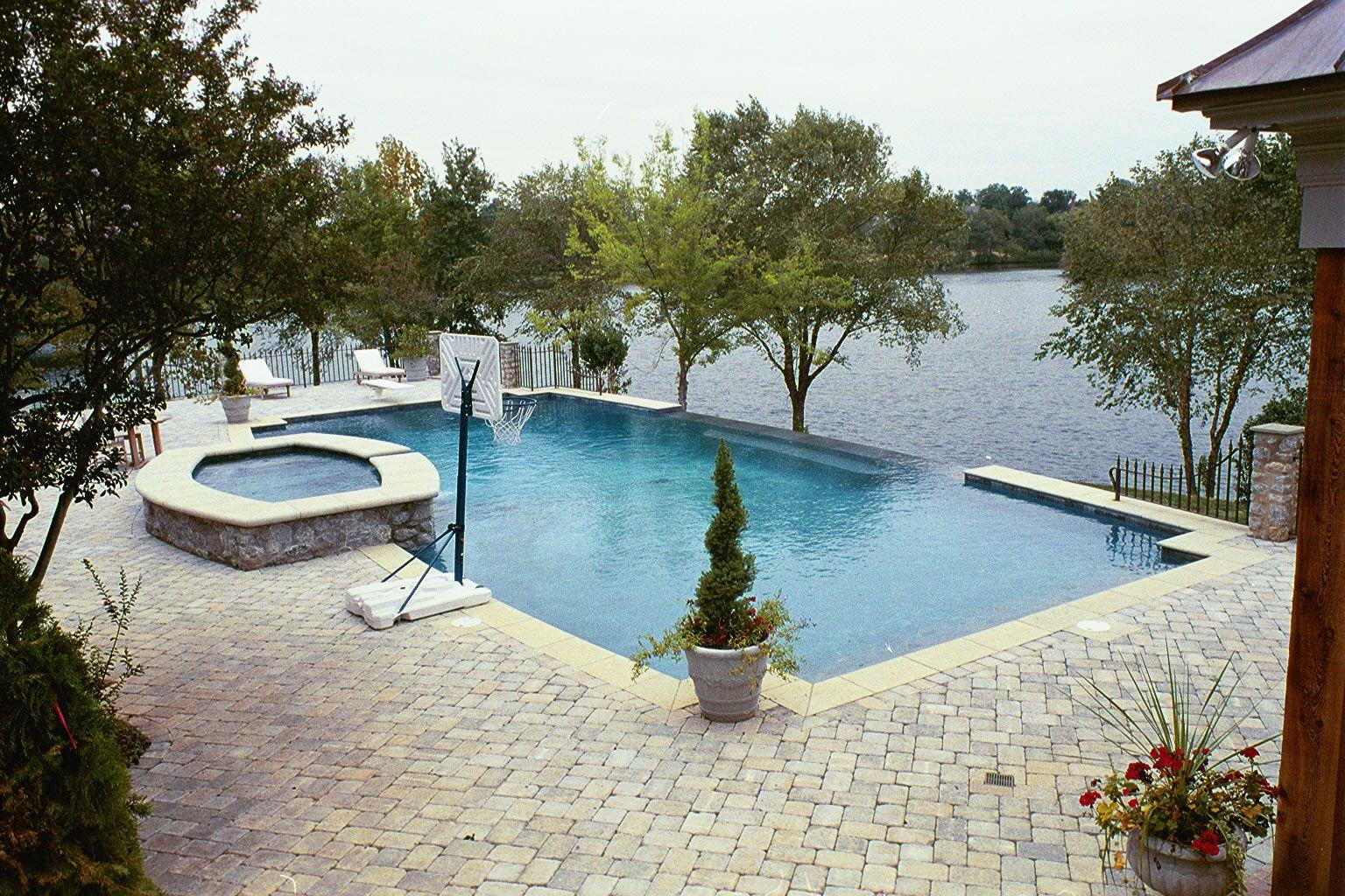 Custom Inground Swimming Pool Design Builder Charlotte Nc