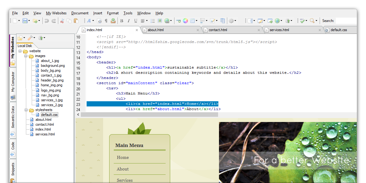The Html Editor Your Best Web Design Friend Html Editor Web Design Show Me The Money