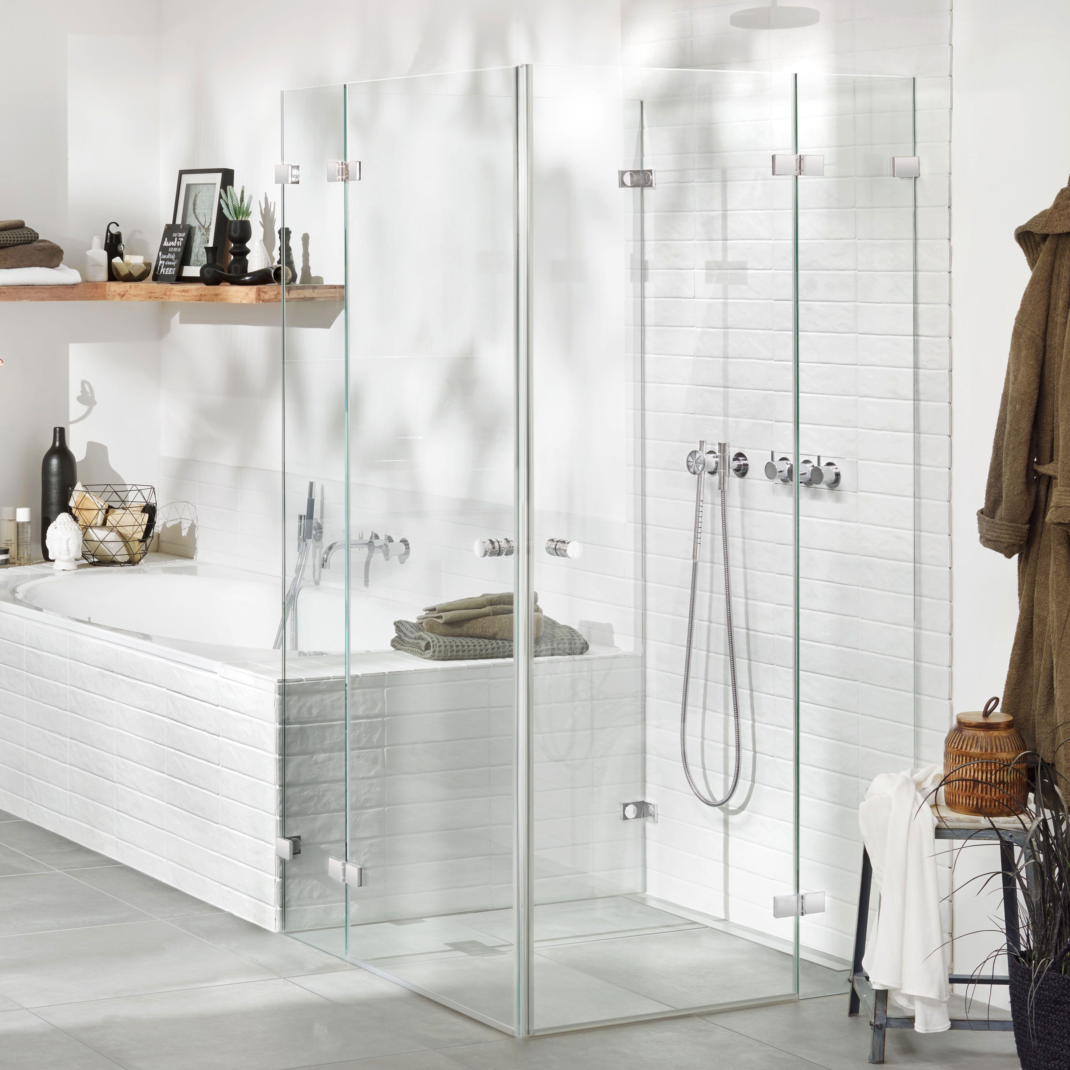Edles Glas Beschlage Fur Leichte Reinigung Und Dusche Inklusive