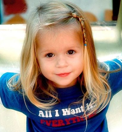 30 Cute And Easy Little Girl Hairstyles Ideas For Your Girl! - Part 24 #girlhairstyles