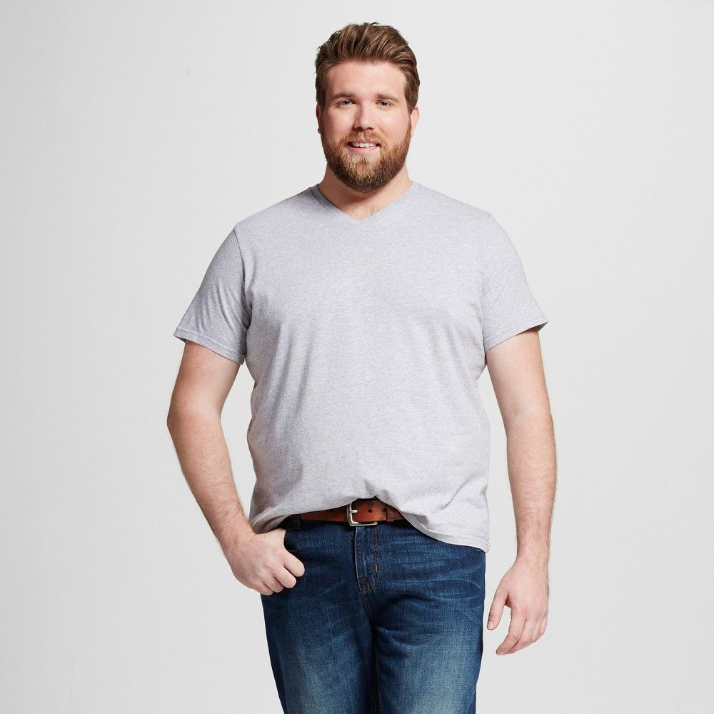 d1bff7a4 Men's Big & Tall V-Neck T-Shirt - Mossimo Supply Co. Casual Gray ...