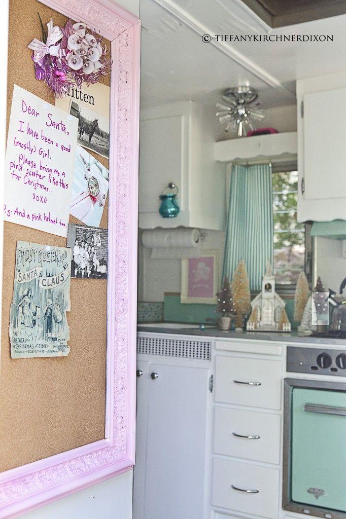 vintage camper | I just love it! | Camper interior, Vintage rv