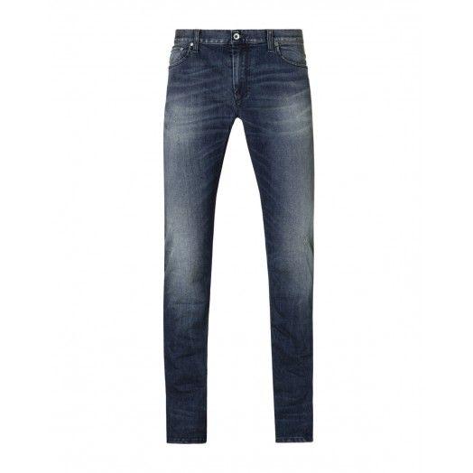Pantaloni denim, elasticizzato a vita bassa e gamba stretta. Vestibilit� super skinny.4Y7VT70B9 DENIM