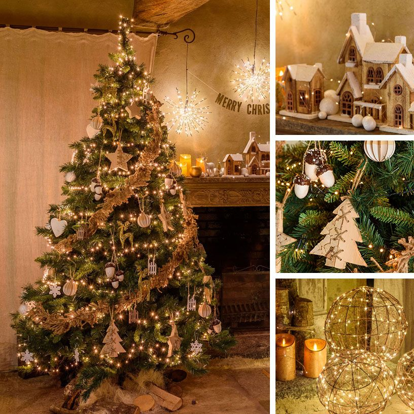 Albero Di Natale Juta.18 Idee Per Addobbare L Albero Di Natale Natale Alberi Di Natale Idee Per L Albero Di Natale