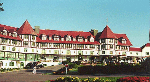 Algonquin Hotel  haunted  hotels in Canada