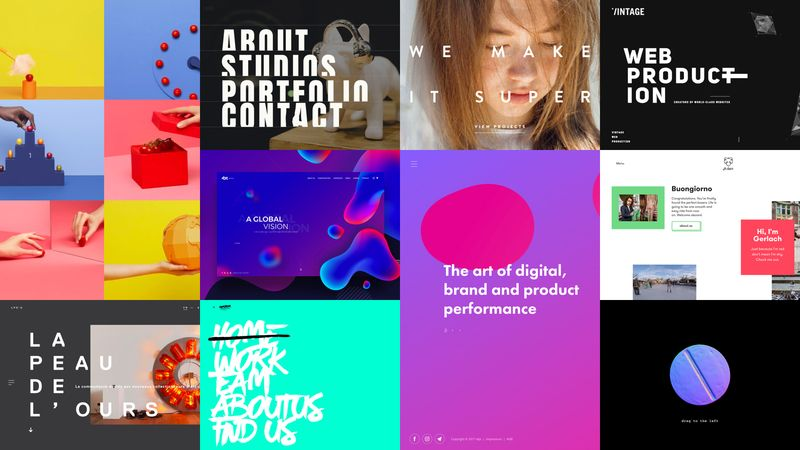 Top 10 Web Design Trends 2018 Keep Up With Users Needs Web Design Trends Web Design Best Logo Design