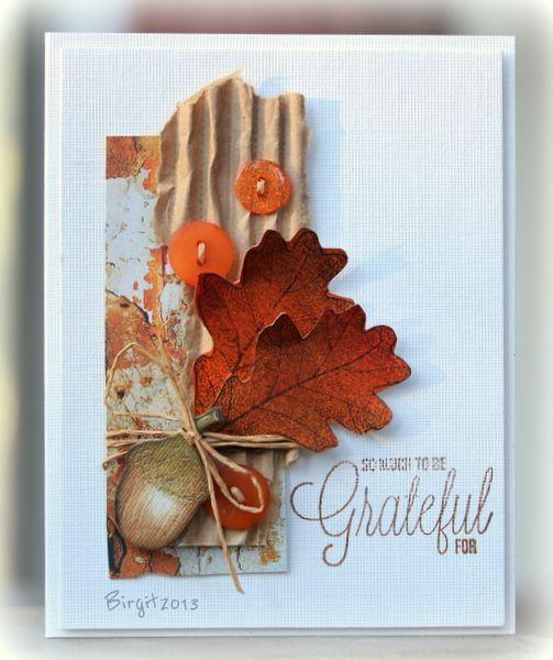 Картинки, осенние открытки своими руками на день рождения
