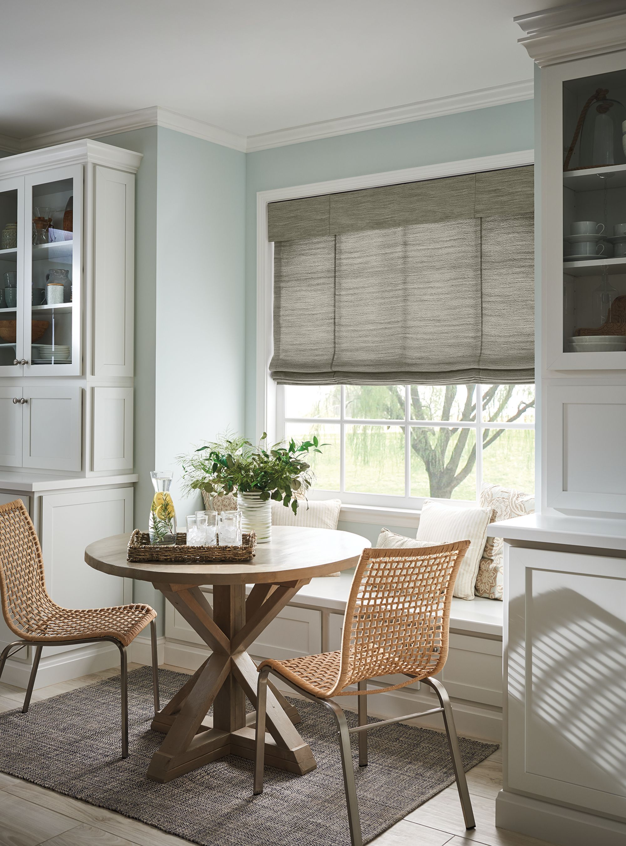 Sliding door fabric vertical blinds with standard chaincord