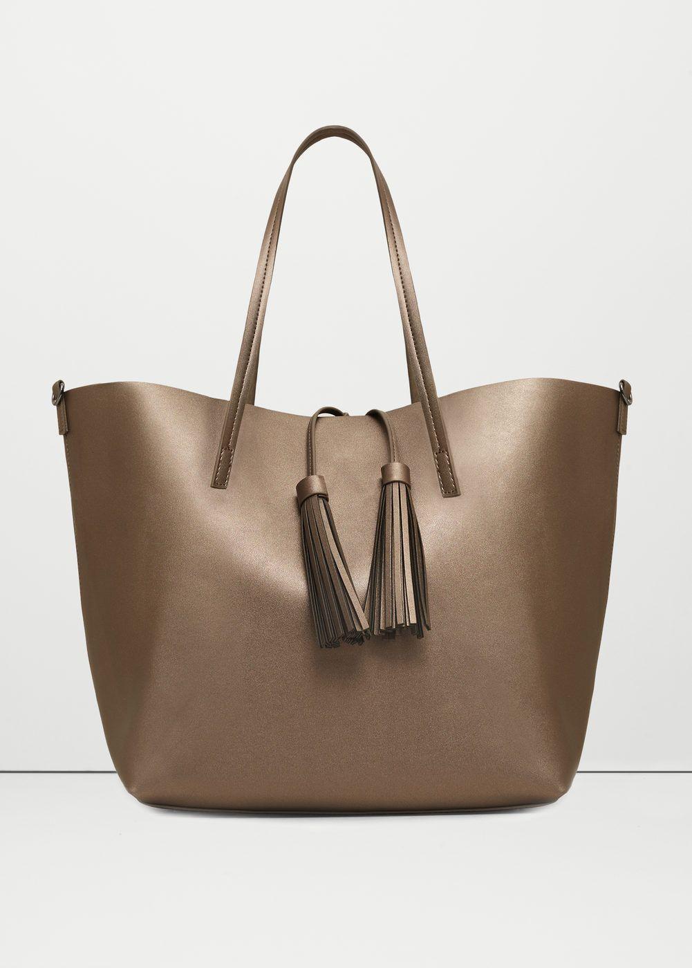 2744525dacd1c Tassel shopper bag - Women in 2019   Womens Tote Bag - iGJ   Bags, Shopper  bag, Womens tote bags