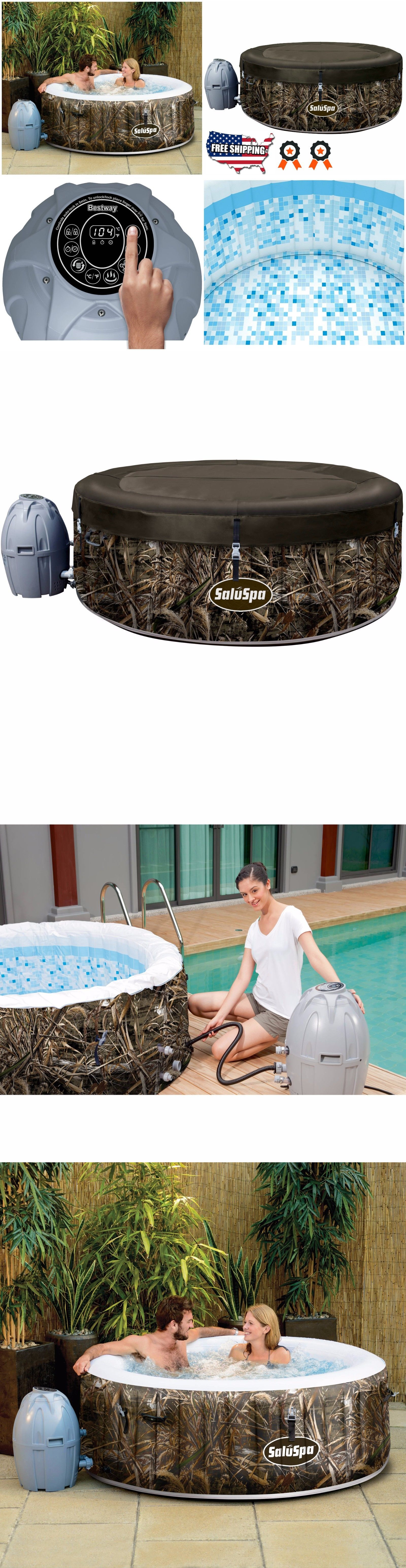 Spas and Hot Tubs 84211: Inflatable Hot Tub Jacuzzi Spa Air Jet 4 ...