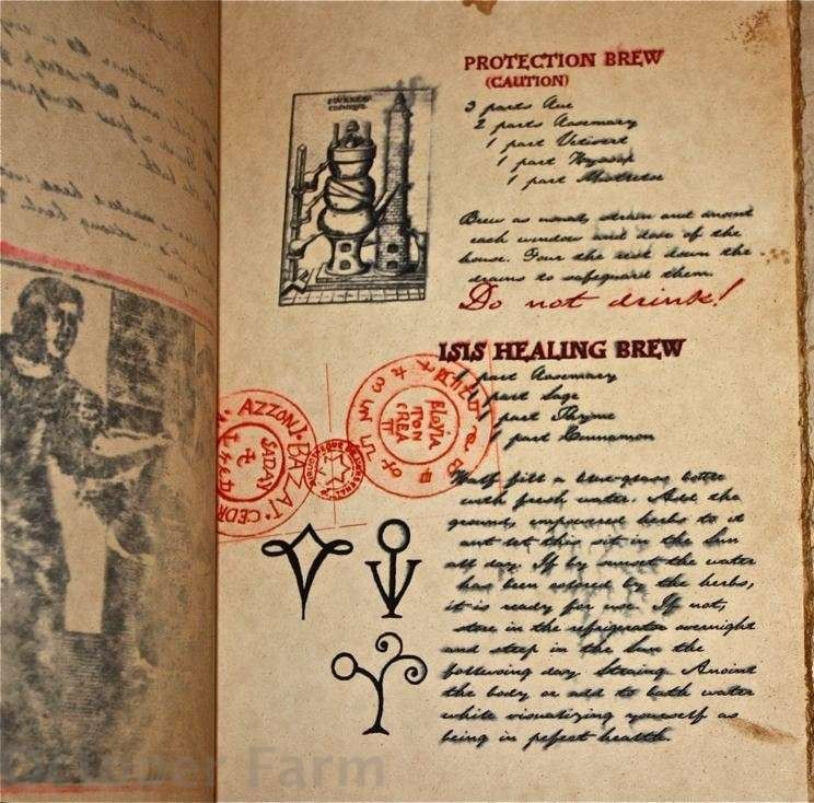 how to make a practical magic book of shadows