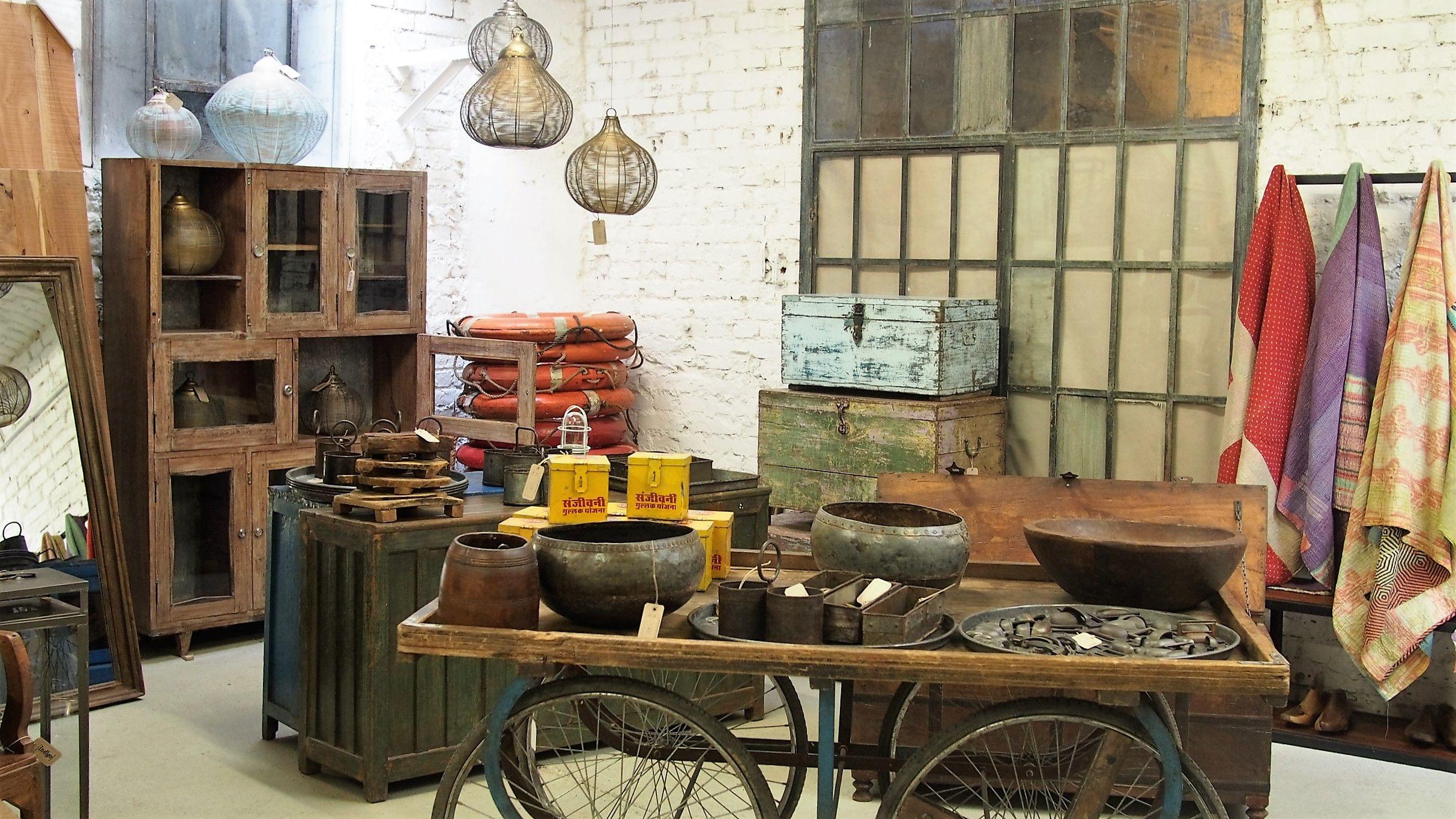 Indigo Express Store Viennaindustrial Style Vintage Möbel