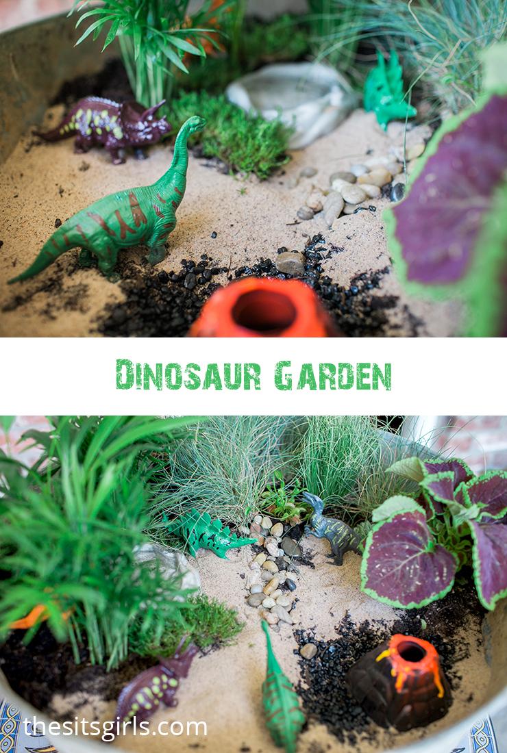 Make Your Own Dinosaur Garden This Is A Fun Summer