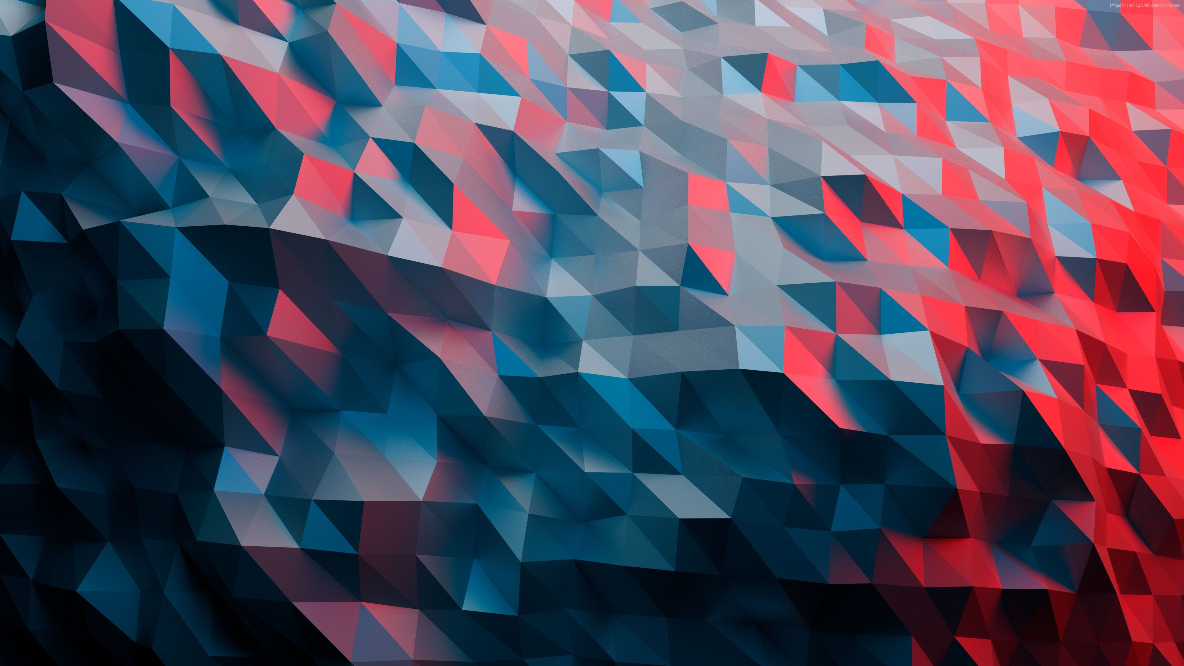 Wallpaper Polygon 4k Abstract With Images 3840x2160