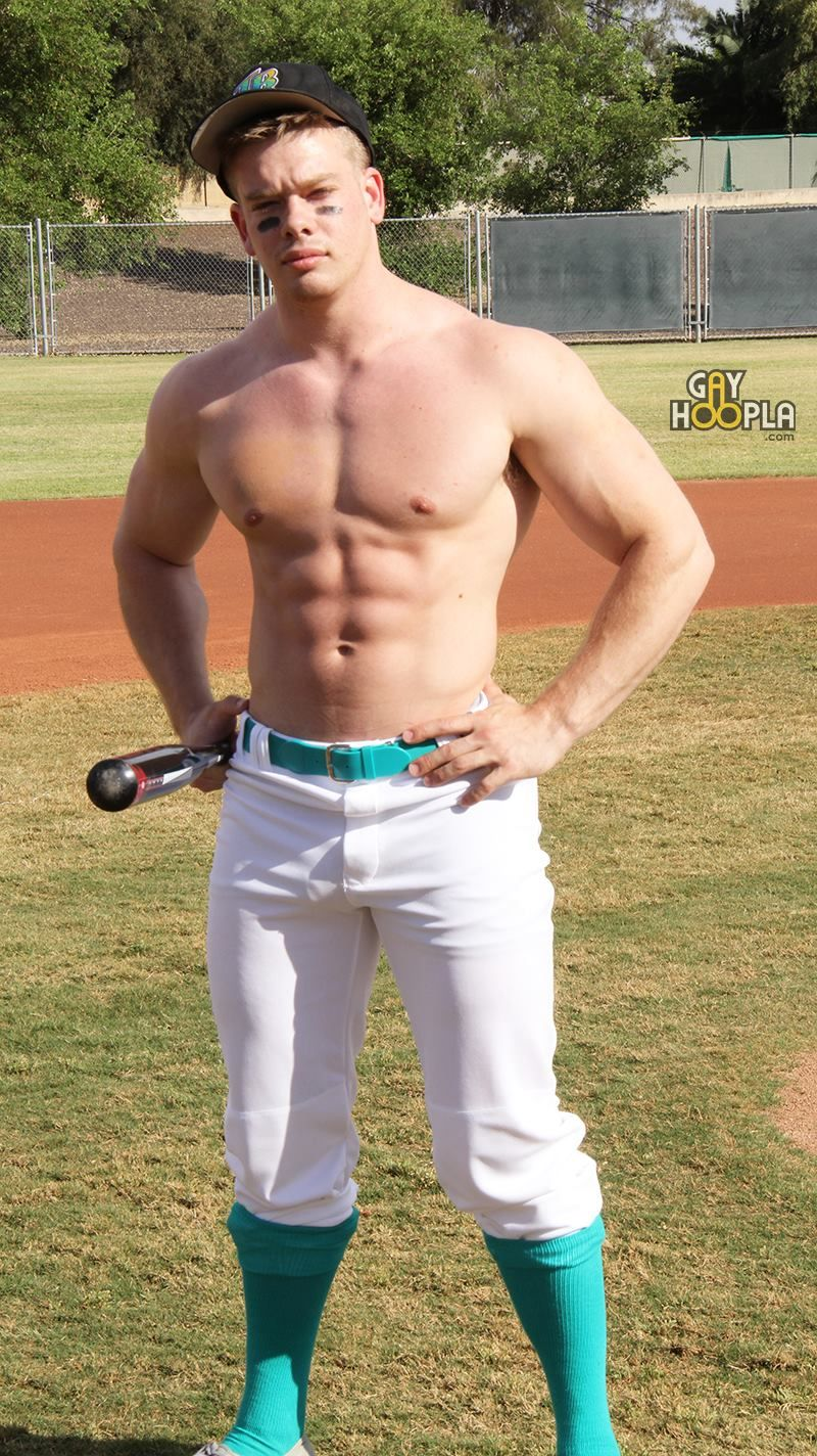 Baseball player gay porn