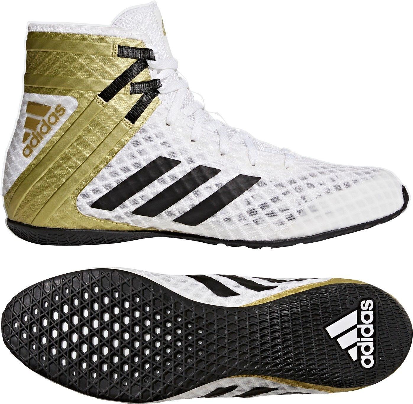 adidas Speedex 16.1 Unisex Boxing Shoes Red Mens Junior Women Boxing Boots