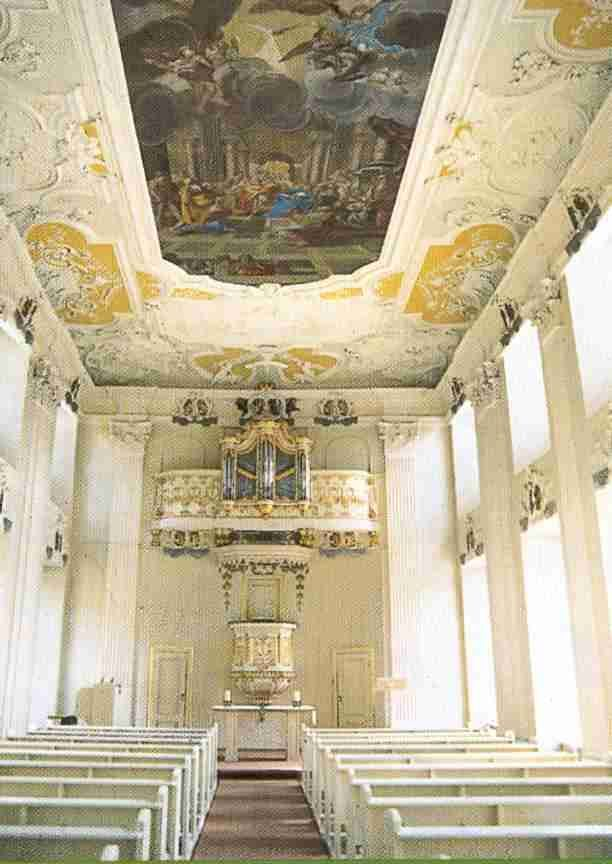 Schloss Oranienstein Kapelle De My Parents Visited This Church Once And My Dad Played The Organ Made By L Cathedral Church Church Church Interior