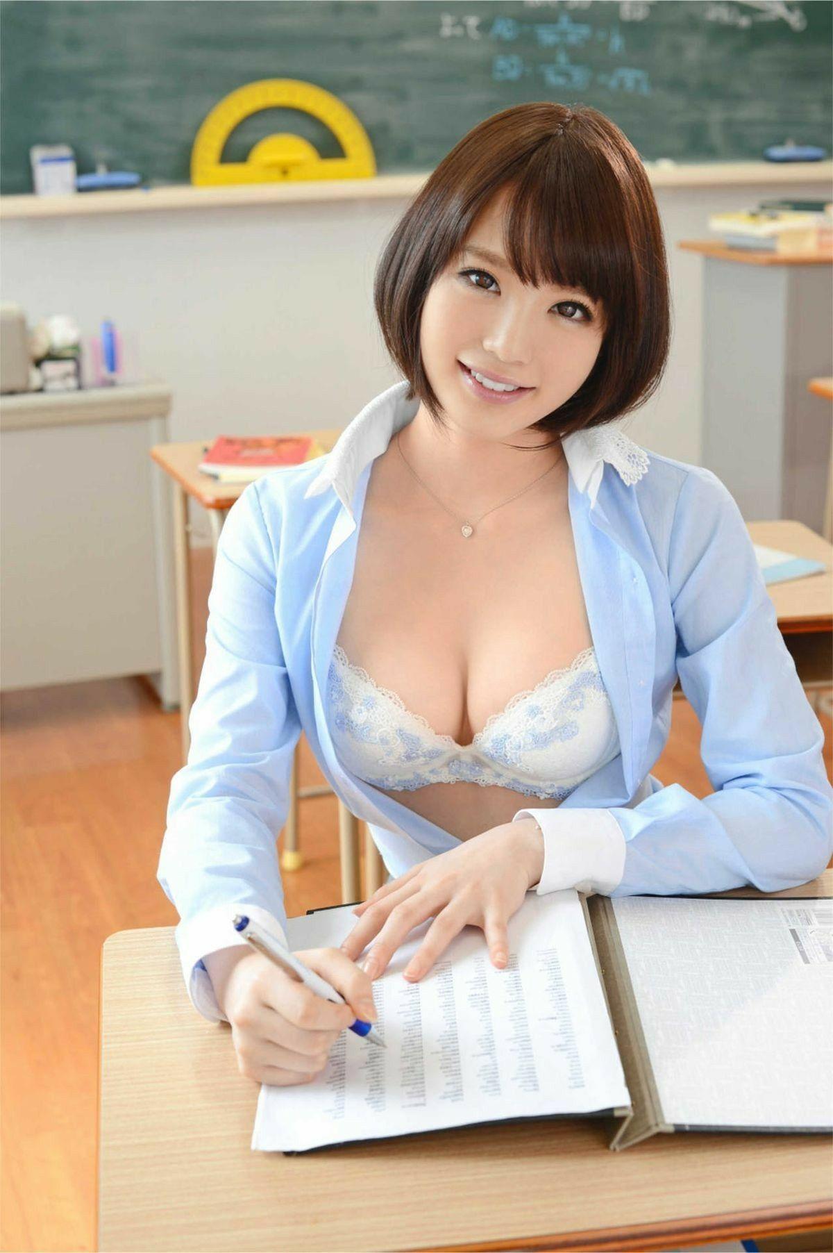 Asian girl bob cut tits