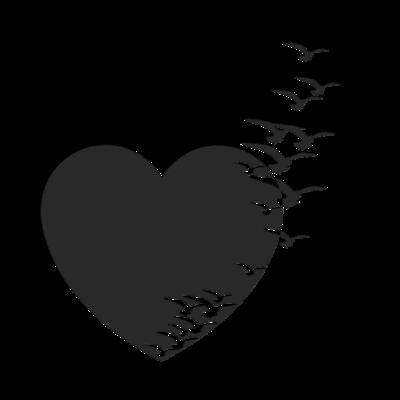 fondo negro de corazon #corazones #bonitos #lindos #venezuela ...