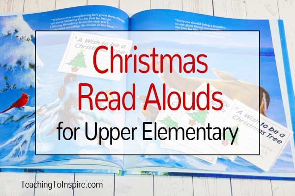 Christmas Read Alouds for Upper Elementary {Free Activities} - Teaching with Jennifer Findley