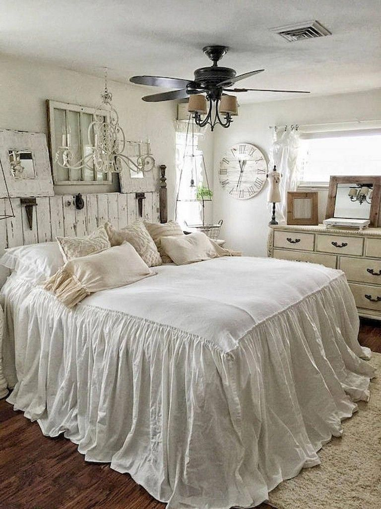 60 Best Rustic Shabby Chic Bedroom Decorating Ideas Chic Master Bedroom Shabby Chic Decor Bedroom Rustic Shabby Chic Bedroom