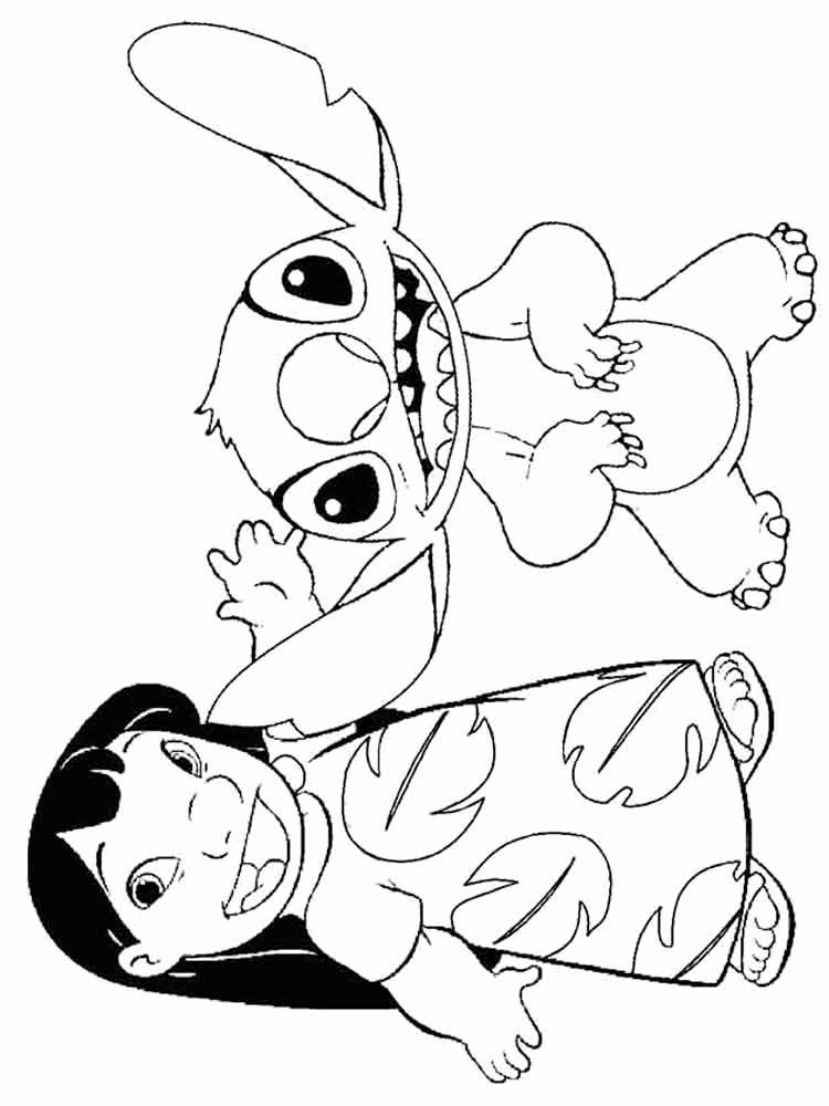 32 Lilo and Stitch Coloring Page in 2020 (With images