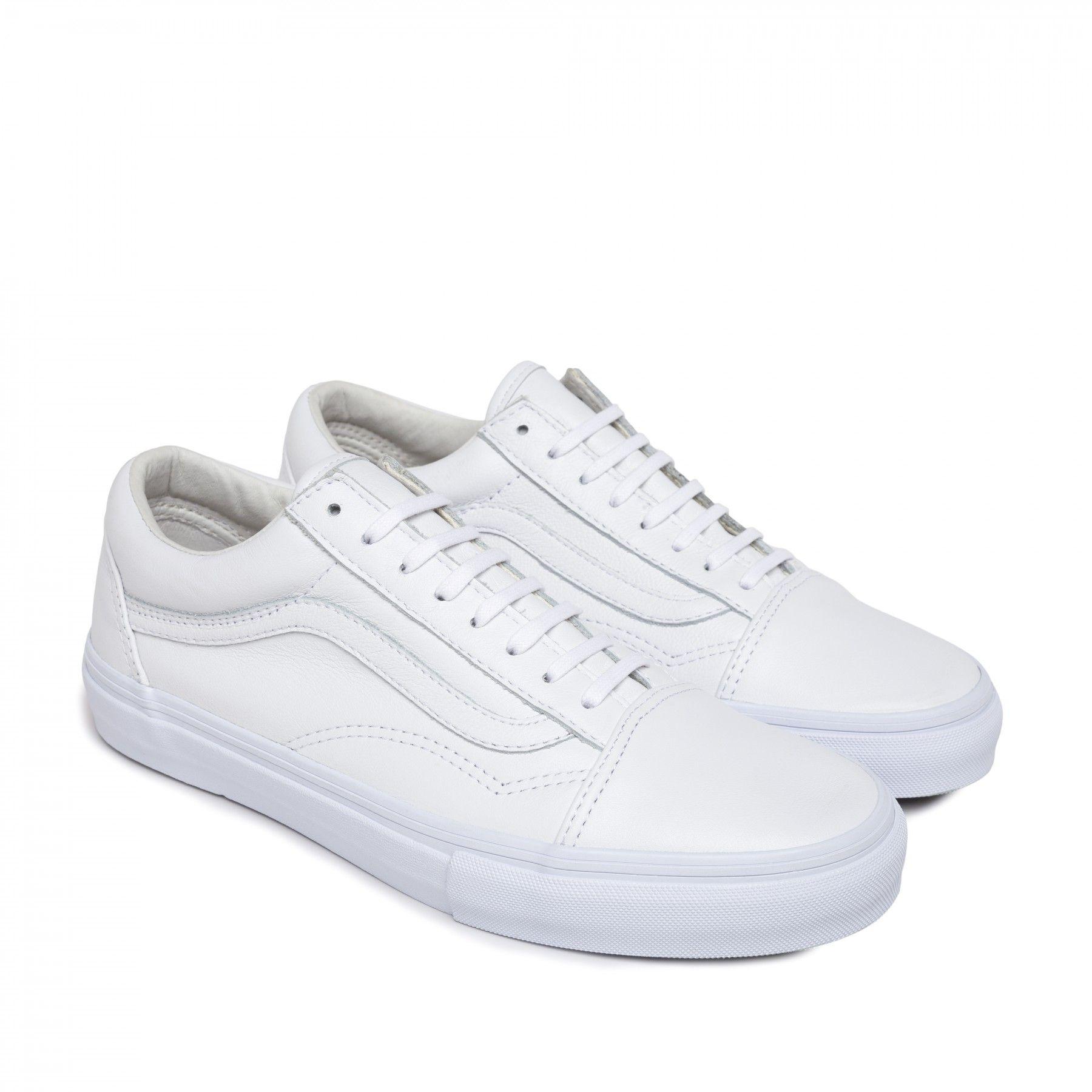 Vans Old Skool LX (White)