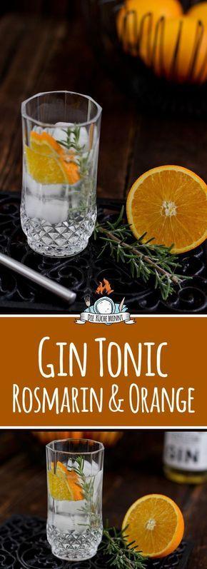 Photo of Gin and tonic recipe with rosemary & orange