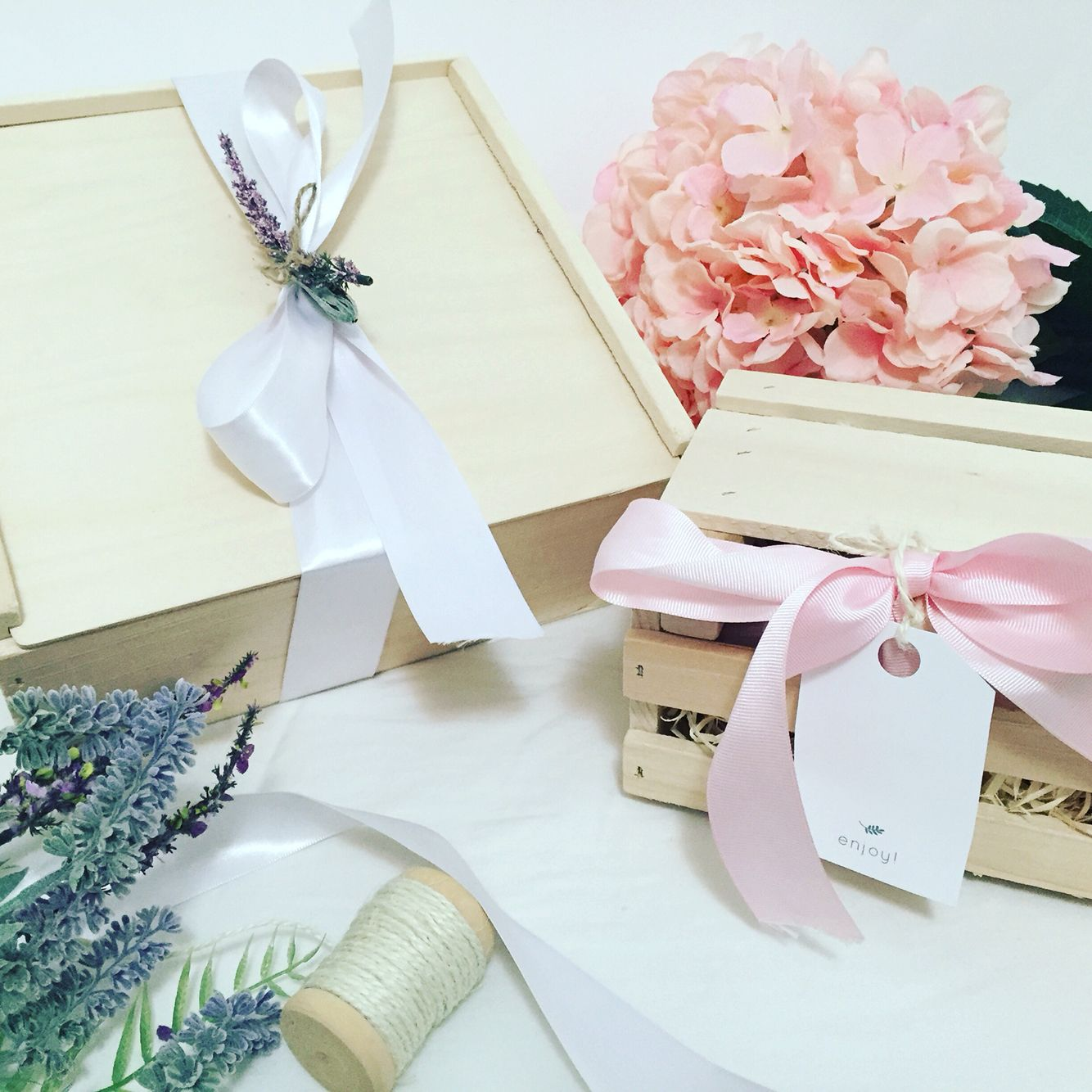 Love filling these! wood boxes and crates   gifts   welcome box ...