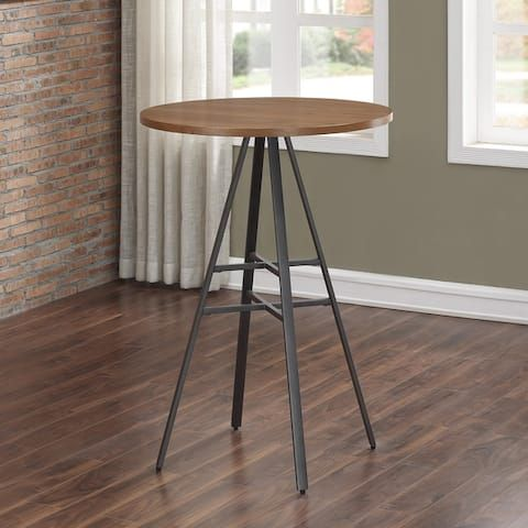Finley 42 Inch High Pub Table By Greyson Living Walnut Dining Table Pub Table Dining Table Bases 42 inch high dining table